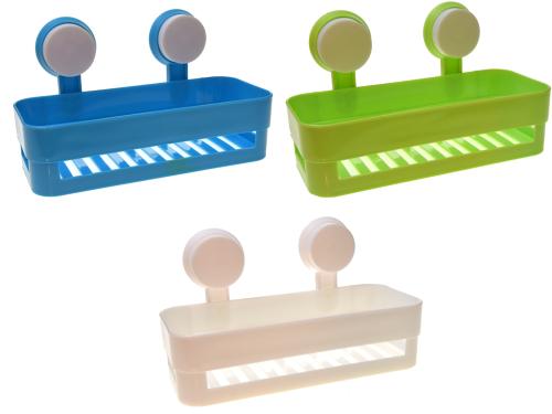 Półka Plastikowa Z Przyssawkami Do Kuchni łazienki